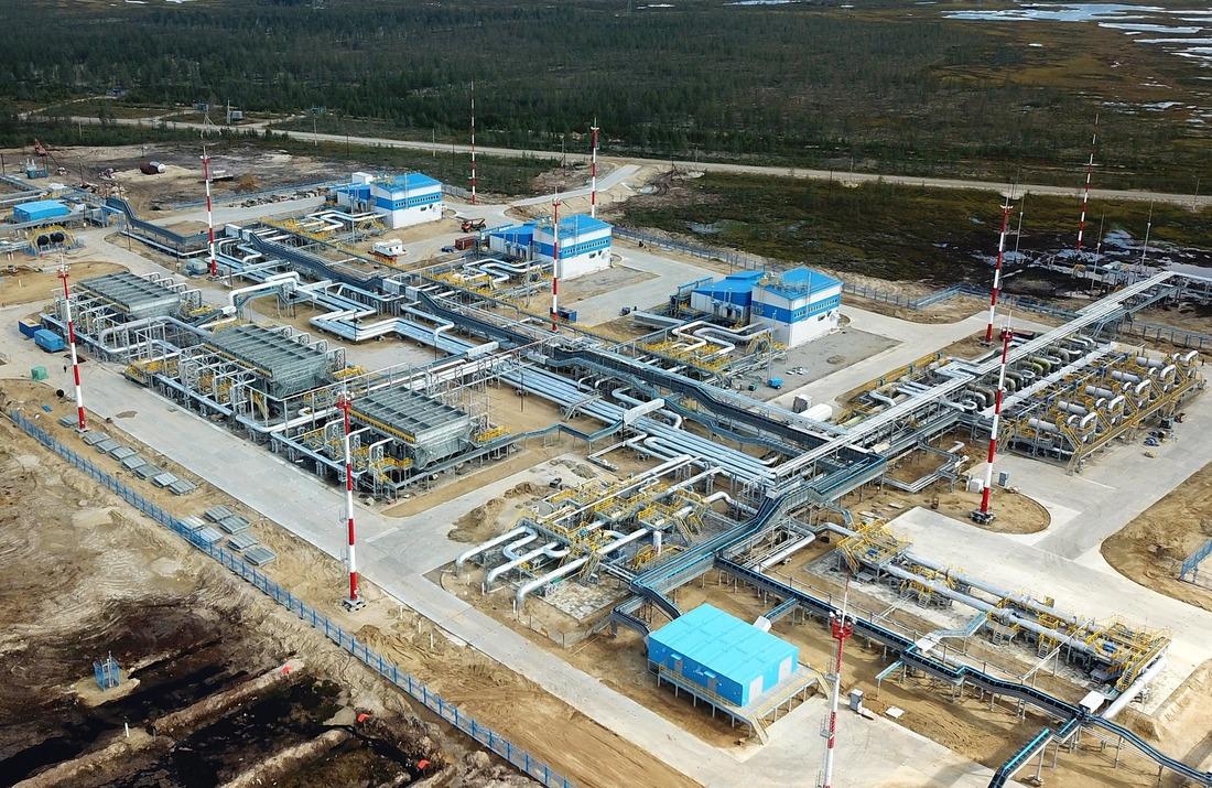 Напроизводственных объектах Еты-Пуровского газового месторождения введено вэксплуатацию российское оборудование связи