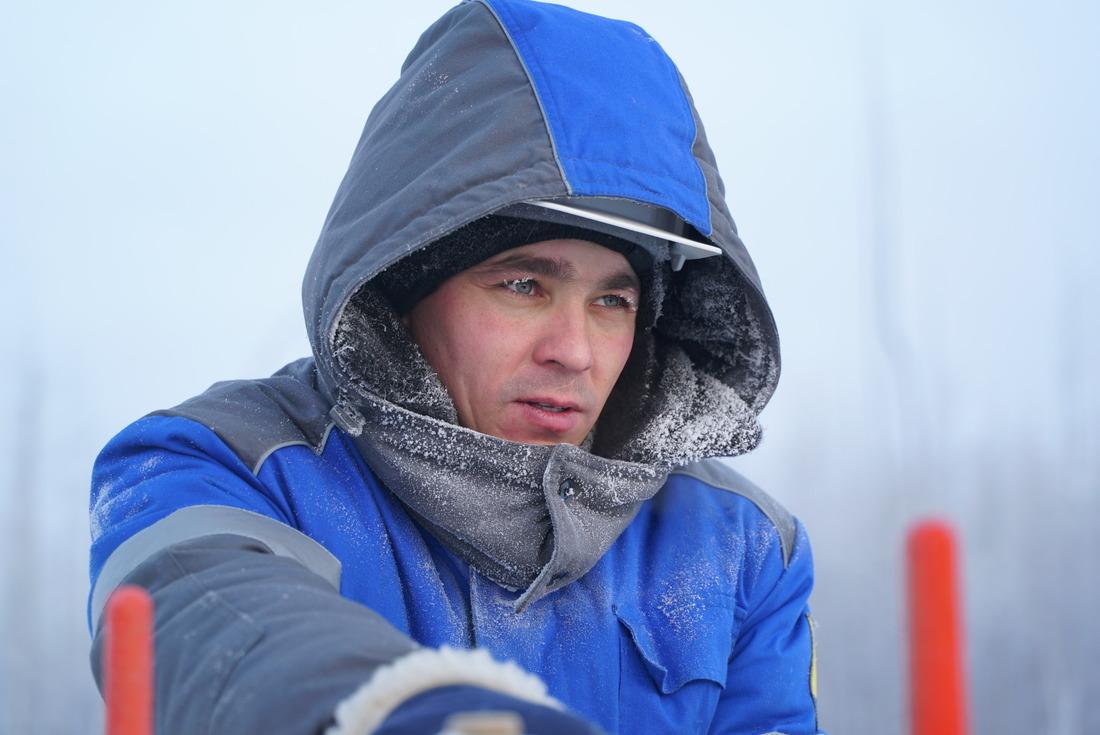 """ООО""""Газпром добыча Ноябрьск"""" полностью обеспечивает персонал комплектами зимней термостойкой одежды"""