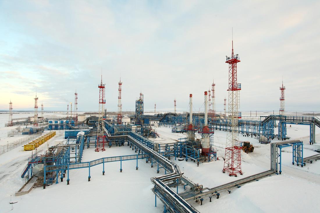 """Месторождения, эксплуатируемые """"Газпром добыча Ноябрьск"""", снабжают газом потребителей полуострова"""