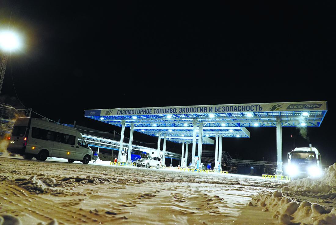 Газонаполнительная станция ЧНГКМ