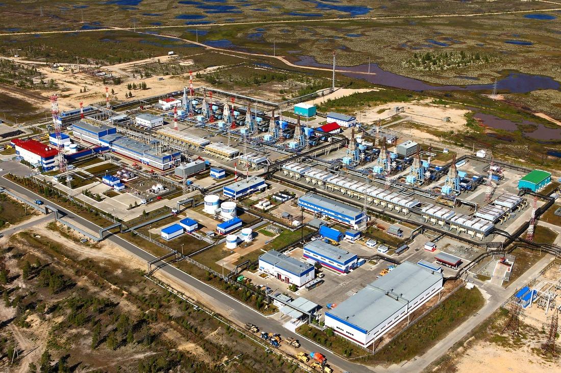 Губкинский газовый промысел, ЯНАО