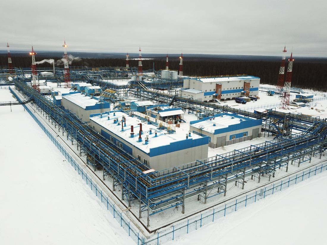 Установка подготовки нефти ЧНГКМ