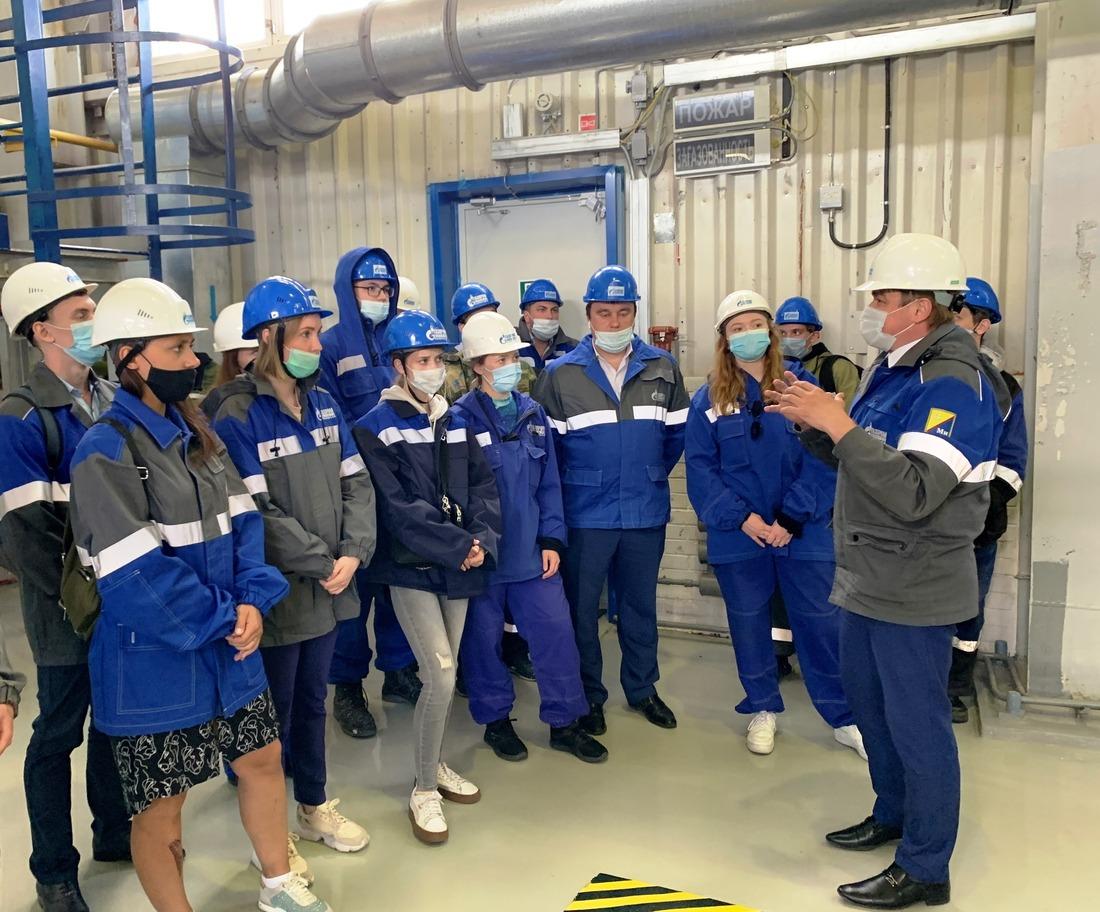 Целевые студенты наэкскурсии наВынгаяхинском газовом промысле
