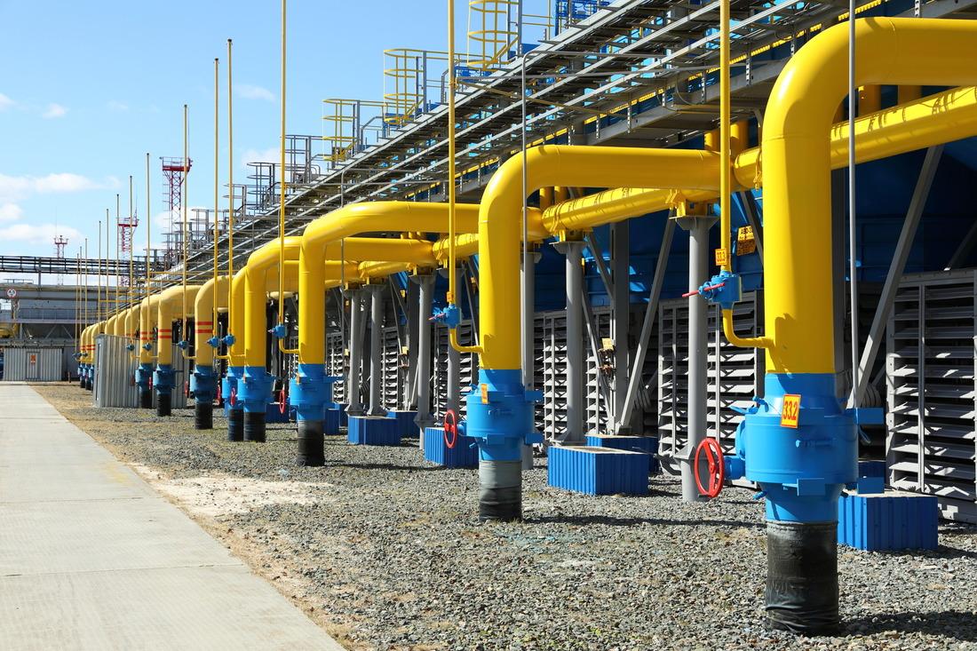 Производственные объекты Губкинского газового промысла