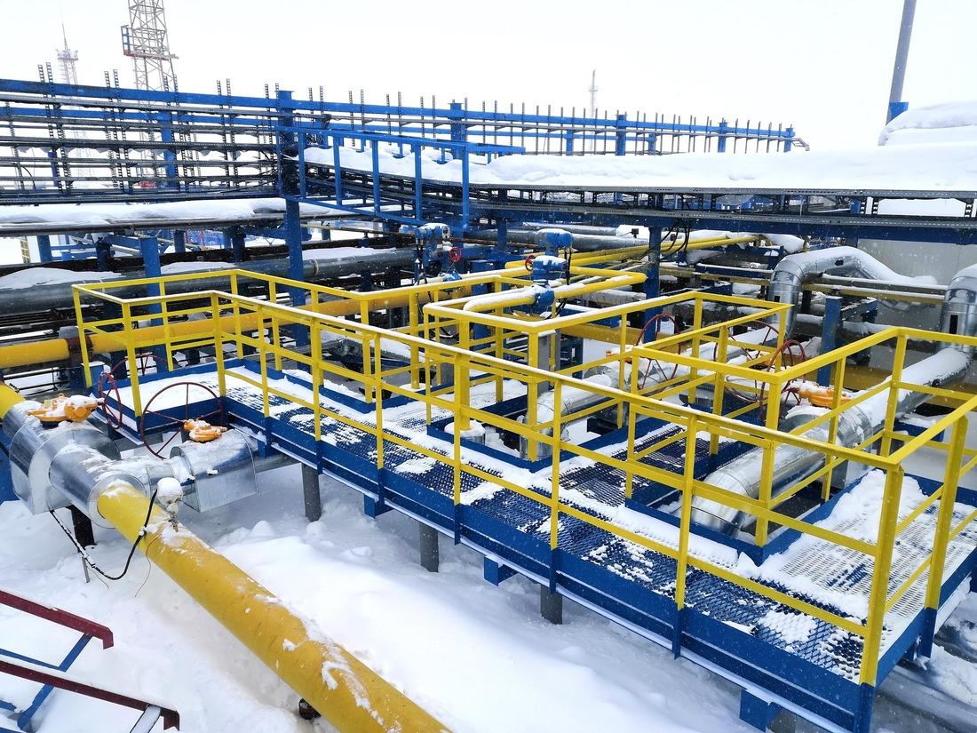 Производственная инфраструктура Нижнеквакчикского месторождения