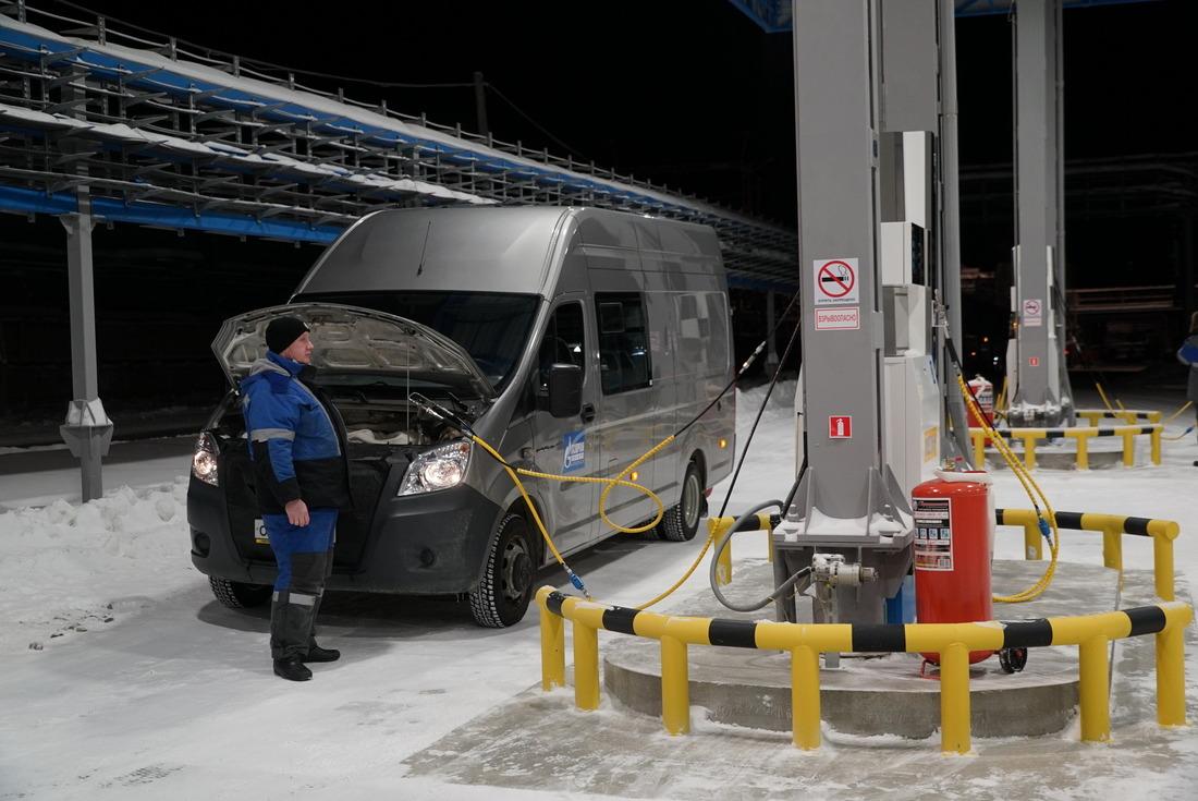 Морозоустойчивость газомоторного транспорта значительно выше, чем уавтомобилей нажидкомоторном топливе